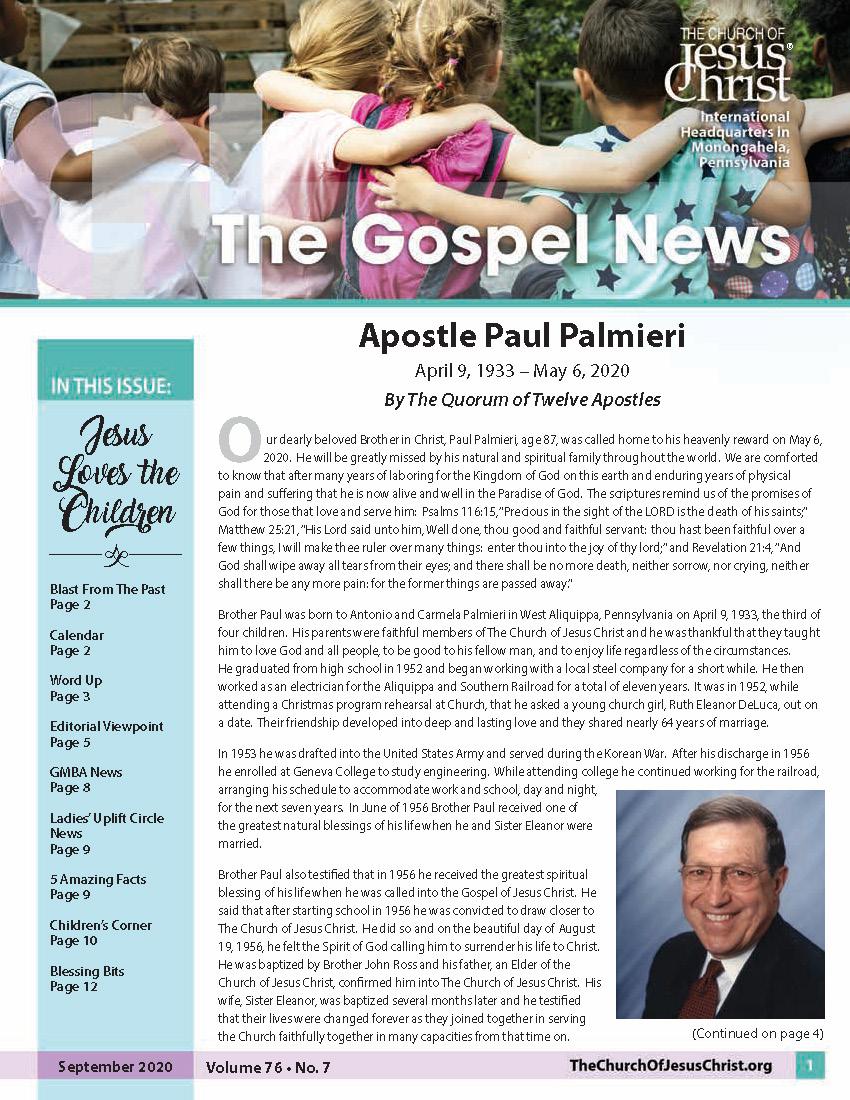 January 2020 newsletter cover