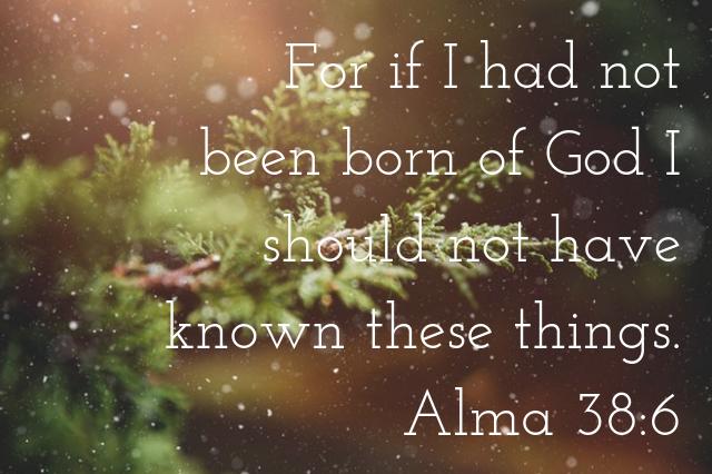 Spread the Good Word: Alma 38:6