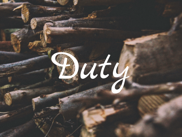 The Value of Duty