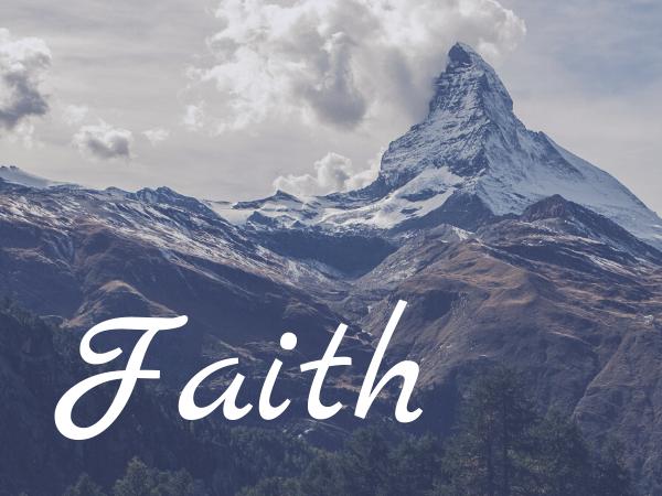 The Value of Faith