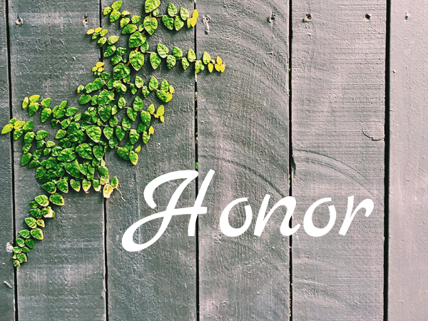 The Value of Honor