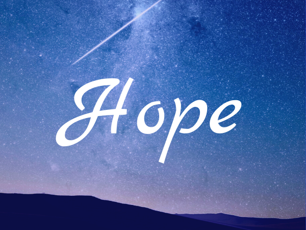 The Value of Hope
