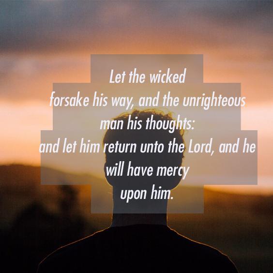 Spread the Good Word: Isaiah 55:7