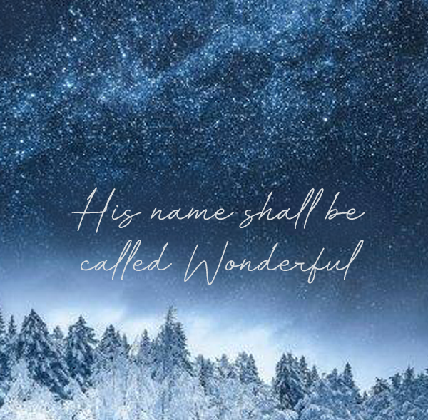 Spread the Good Word: Isaiah 9:6