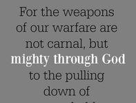 Spread the Good Word: 2 Cor. 10:4